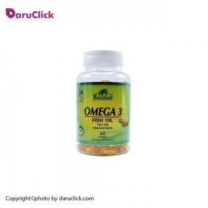سافت ژل امگا ۳ آلفا ویتامین