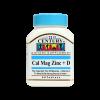 قرص کلسیم منیزیم روی + ویتامین دی 21 سنتری-سلامت مادر و جنین - پیشگیری و درمان پوکی استخوان - برطرف کردن گرفتگی عضلات