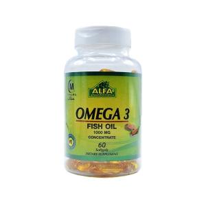 کپسول امگا ۳ آلفا ویتامین