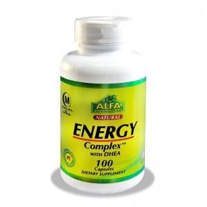کپسول انرژی کمپلکس با DHEA آلفا ویتامین