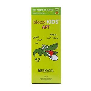 شربت کیدز ای پی تی بایوکل-اشتهاآور کودکان - کمک به دستگاه گوارش- کمک به هضم غذا