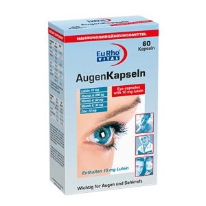 کپسول چشم اوژن یوروویتال-سرشار از لوتئین و تامین کننده مواد مغذی چشم- ویتامین A جهت دید چشم-ویتامین C موجب حفظ قدرت دفاعی بدن