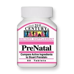 پریناتال-یک مولتی ویتامین-مینرال کامل- اختصاصاً برای خانم های باردار و مادران شیرده فرموله شده