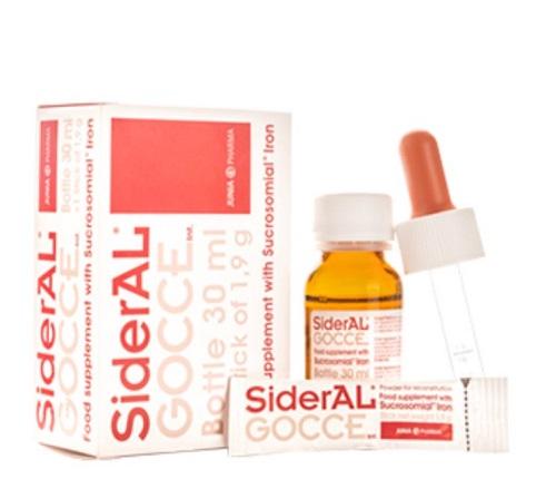 قطره آهن سیدرال گوچه - مناسب کم خونی کودکان
