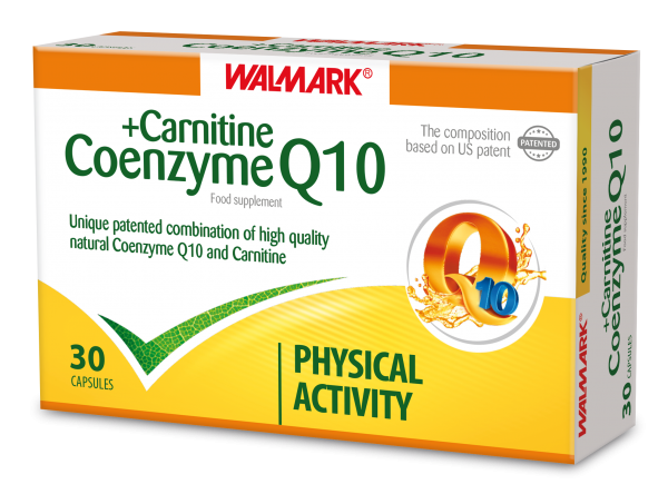 Walmark Coenzyme Q10 and Carnitine 30 Cap