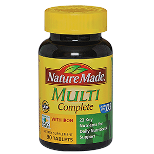 Nature Made Multi Complete Tabs