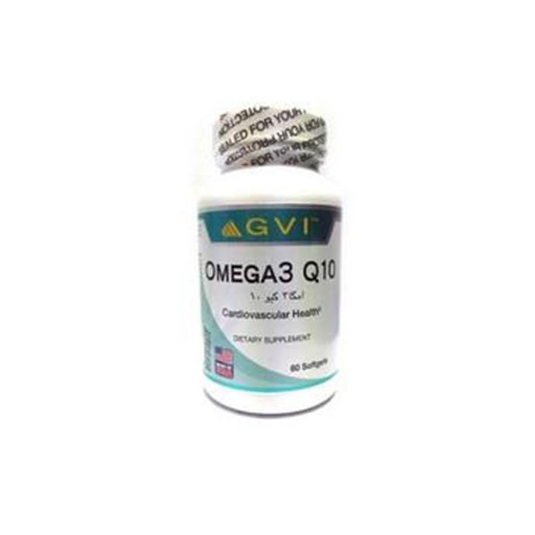 کپسول امگا ۳ کیوتن جی وی آی-کمک به سلامت سیستم قلبی و مغزی-حفظ سلامت سیستم قلب و عروق-تولید انرژی مورد نیاز سلول ها