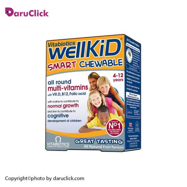 ول کید مولتی ویتامین جویدنی کودکان ویتابیوتیکس