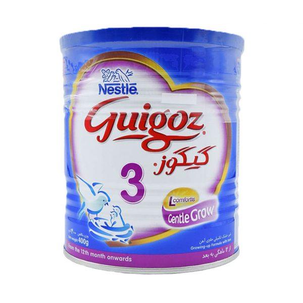 شیر خشک گیگوز ۳ نستله