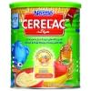 سرلاک گندم و میوه با عسل به همراه شیر نستله -مناسب کودکان از 12 ماهگی-کمک به عملکرد خوب سیستم ایمنی