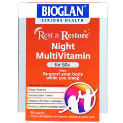 مولتی ویتامین شب بالای ۵۰ سال | Night Multi Vitamin for +50