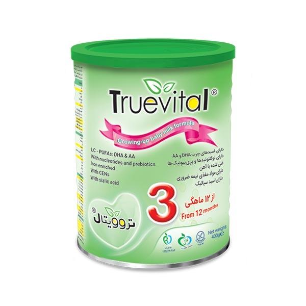 شیر خشک تروویتال 3 -مناسب شیرخواران از 12 ماهگی به بعد-شامل همه مواد مغذی ضروری