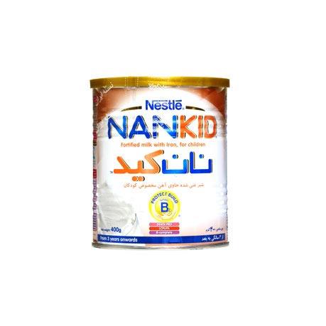 شیر خشک نان کید نستله-دارای باکتری های طبیعی مفید و زنده-افزایش ایمنی بدن کودک