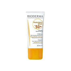 کرم ضدآفتاب فتودرم اسپات SPF50 بایودرما-مقاوم برابر تعرق و آب-مناسب لک های ناشی از آفتاب