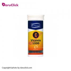 قرص جوشان ویتامین C های هلث