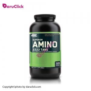 سوپر آمینو 2222 اپتیموم نوتریشن - ریکاوری . بازسازی عضلات- کمک به عضله سازی -