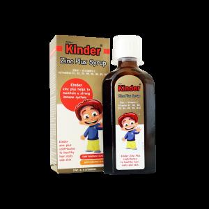 شربت زینک پلاس فیشر کیندر-اشتهاآور کودکان - رفع بی اشتهایی-کم خونی کودکان