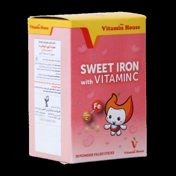 سوییت آیرون با ویتامین سی هوس - جلوگیری از کم خونی - درمان فقرآهن-رشد کودکان