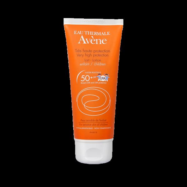 لوسیون ضد آفتاب کودک ⁺SPF50 اون-محافظت بسیار بالا-التیام بخش و ضد التهاب