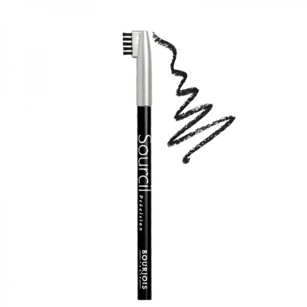 مداد ابرو برس دار Sourcil بورژوآ-به همراه برس- استفاده آسان -مناسب جهت ایجاد رنگ و فرم دقیق
