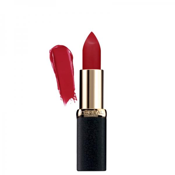 رژ لب مات Color Riche Matte Obsession لورال-آبرسان قوی لب ها -دارای رنگدانه های بسیار قوی و مخملی -غنی شده با روغن های مغذی