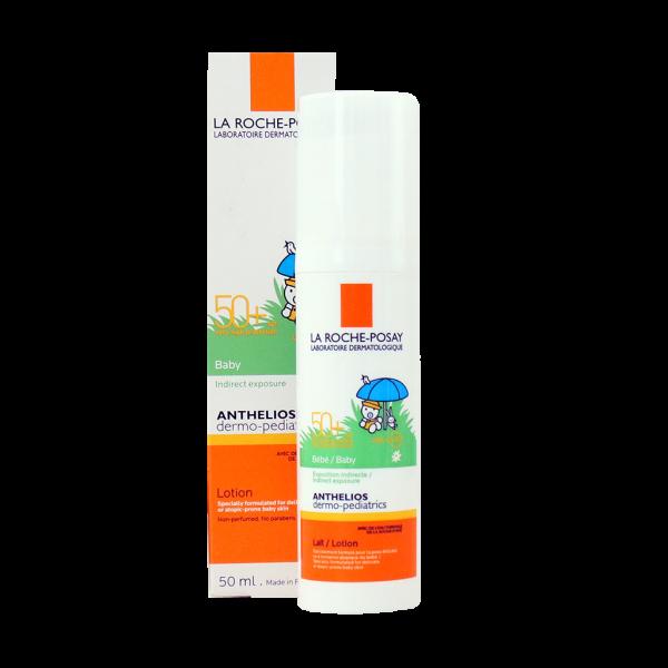 لوسیون ضد آفتاب نوزادان آنتلیوس لاروش پوزای-جهت محافظت هر چه بیشتر پوست کودک از نور آفتاب