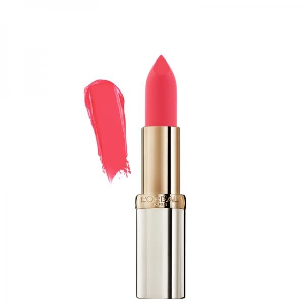 رژ لب مات Color Riche لورال-حاوی ویتامین E -جلوگیری از خشکی لب - رنگ های گیرا و عمیق