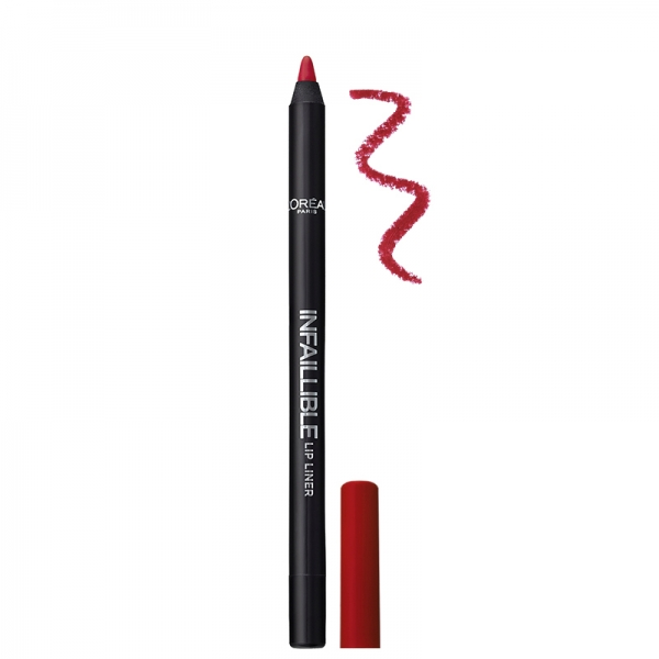 مداد لب بادوام Infallible لورال-دارای رنگ های متنوع - حاوی رنگدانه های فوق العاده قوی -ماندگاری بالا