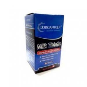 کپسول میلک تیستل لورگانیک -کمک به درمان کبد چرب