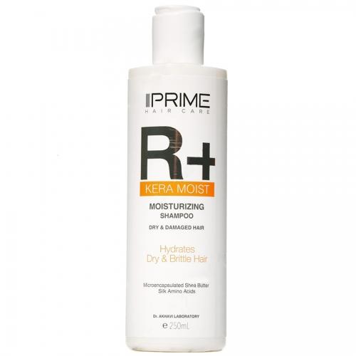 شامپو رطوبت رسان موی خشک و آسیب دیده R+ پریم-ترمیم کننده و تقویت کننده موهای خشک و شکننده