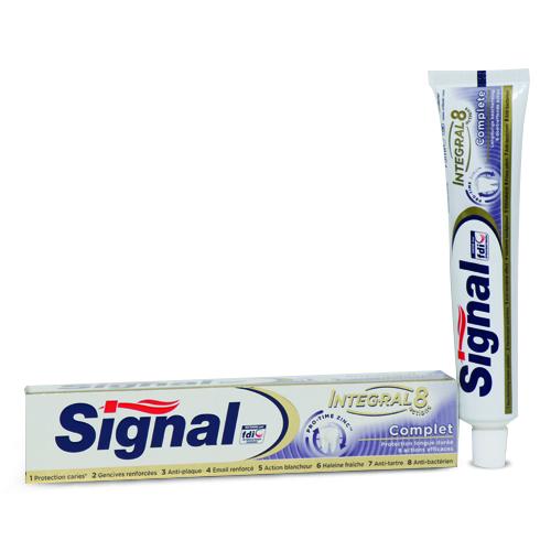 خمیر دندان اینتگرال 8 سیگنال - محافظ دندان و لثه