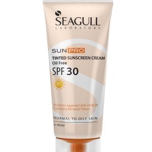 کرم ضد آفتاب رنگی SPF30 سی گل-فاقد چربی