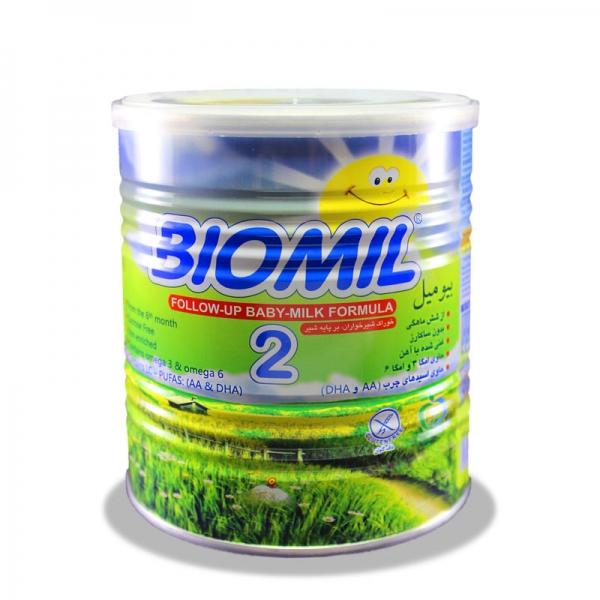 شیر خشک بیومیل 2 فاسبل - مناسب 6 ماهگی به بعد