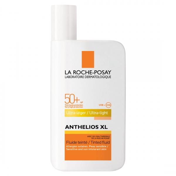 فلوئید ضد آفتاب SPF50 رنگی آنتلیوس XL لاروش پوزای