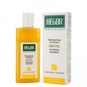 شامپو تقویت کننده و کراتینه مو هگور