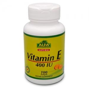 کپسول ویتامین E آلفا ویتامین