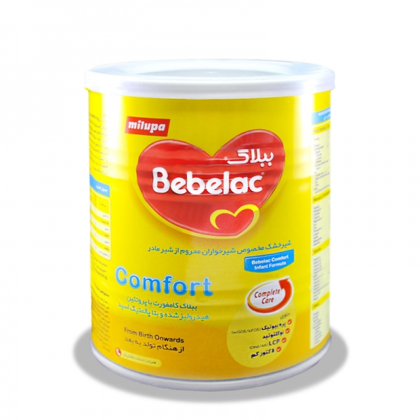 شیر خشک ببلاک کامفورت میلوپا | Milupa Bebelac Comfort Milk Powder From Birth Onwards 400 g