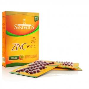 قرص زینک گلوکونات + ویتامین ث سندروس