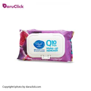 دستمال مرطوب پاک کننده آرایش AGE FIGHTER-Q10 میوه ای دافی