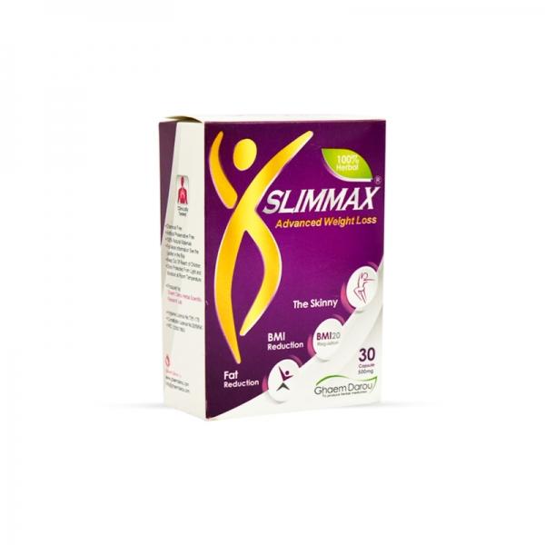 کپسول اسلیم مکس قائم دارو | Ghaem Darou Slimmax Advanced Weight Loss 30 Caps