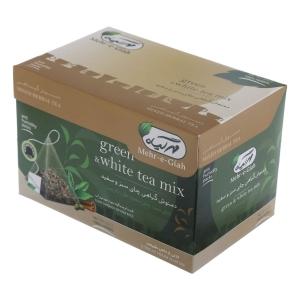 کنید دمنوش قهوه سبز و چای سبز مهر گیاه