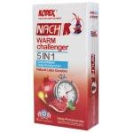 کاندوم تاخیری Warm Challenger 5 In 1 کدکس