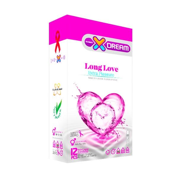 کاندوم تاخیری لذت طولانی لانگ لاو ایکس دریم