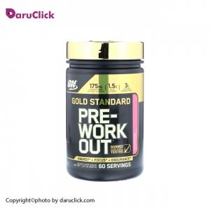 پودر گلد pre-workout  اپتیموم نوتریشن