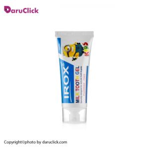 ژل دندان شیری وانیلی ایروکس