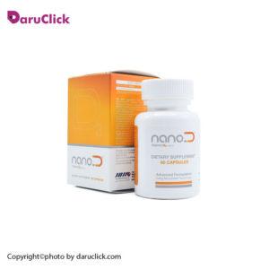 کپسول نانو ویتامین دی 1000 واحدی نانوحیات دارو
