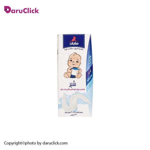 شیر ارگانیک مخصوص خردسالان پر چرب ماجان کاله