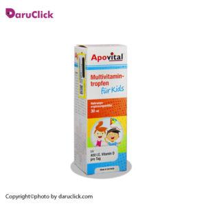 قطره مولتی ویتامین فور کیدز آپوویتال