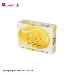 صابون گلیسیرینه مناسب پوست های خشک فیروز و حساس