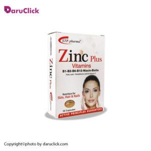 کپسول زینک همراه ویتامین ها اس تی پی فارما